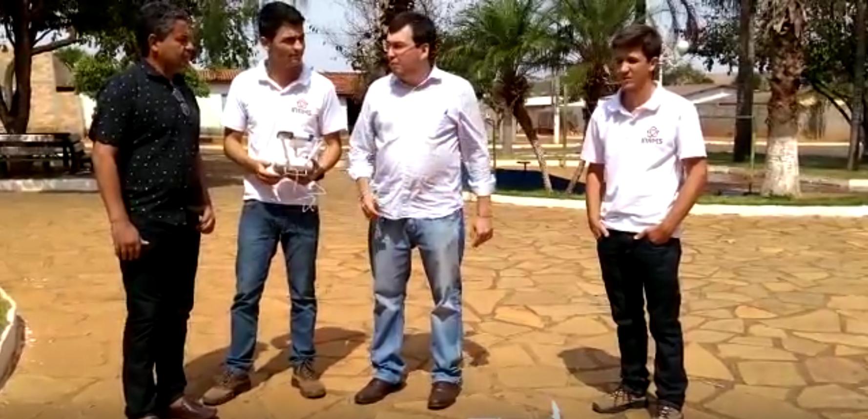 INAMS – Depoimento do prefeito de Gameleira de Goiás.