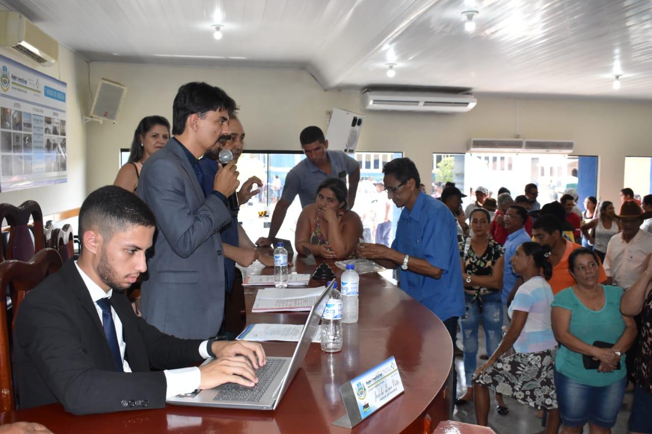 No dia 28 de setembro de 2019, aconteceu a audiência publica no Município de Santa Terezinha de Goiás.