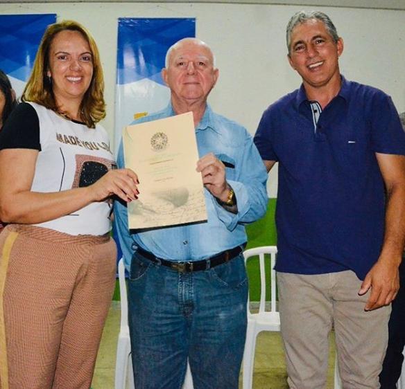 Solenidade de entrega de Títulos de Regularização Fundiária Urbana do Município de Silvânia